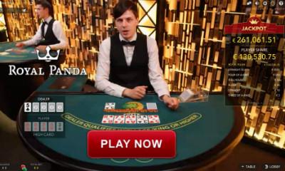 play live caribbean stud poker