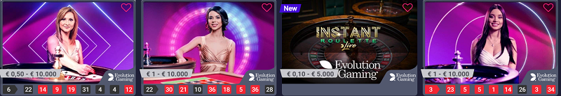 live roulette strategy